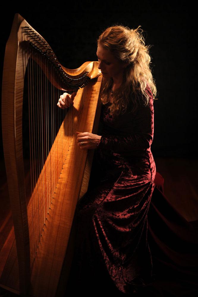 Kathie Hardy - Harp Musician - Whatcom County