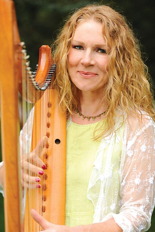 Harpist - Kathie Hardy - Bellingham WA