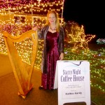 Harp Music at Starry Night Special Event