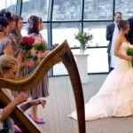 wedding ceremony - harp music