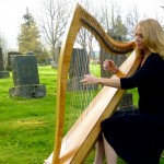 Harp music perfect accompaniment for memorial services